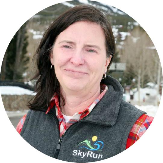 skyrun breckenridge megan service champion award